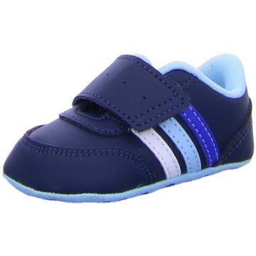 adidas KrabbelschuhV JOG CRIB blau