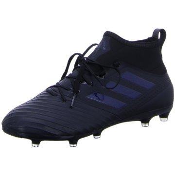 adidas Nocken-SohleACE 17.2 FG Herren Fußballschuhe Nocken schwarz schwarz