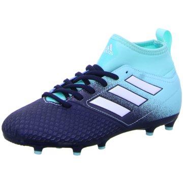 adidas FußballschuhAce 17.3 FG Kinder Fußballschuhe Nocken blau weiß blau