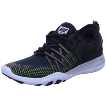 Nike TrainingsschuheFree TR 7 Metallic Damen Trainingsschuh Fitness schwarz silber schwarz
