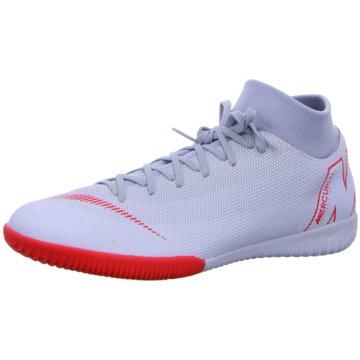 Nike Hallen-SohleMercurial Superfly X 6 Academy IC grau