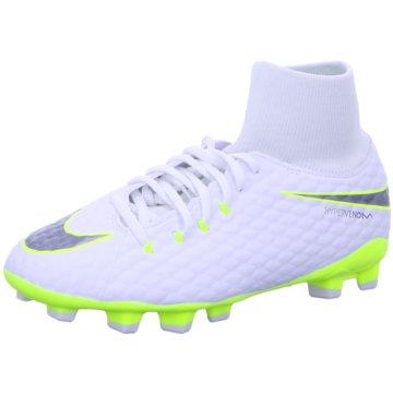 Nike FußballschuhJr. Hypervenom Phantom 3 Academy FG weiß