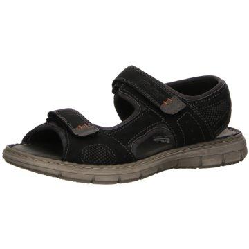 Rieker Komfort SchuhSandale grau