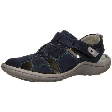 KRISBUT Komfort Slipper blau