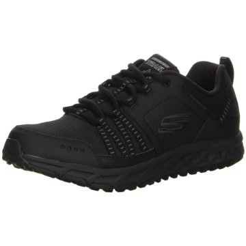 Skechers Sportlicher SchnürschuhSneaker schwarz
