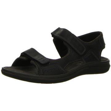 Salamander Komfort Sandale schwarz