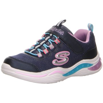 Skechers Sneaker LowS Lights Power Petals blau