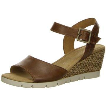 Gabor comfort Komfort Sandale braun