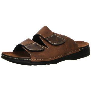 Lindenbaum Komfort Sandale braun