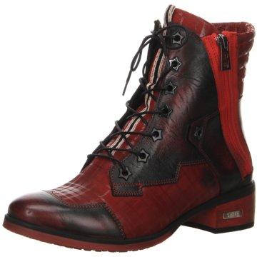 Billig Damen Simen Stiefel weiß schwarz rot Schuhe