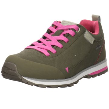 CMP WanderhalbschuheELETTRA LOW WMN HIKING SHOE WP - 38Q4616 grün