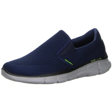 Skechers Bequeme Slipper blau