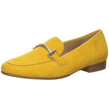 ara Klassischer Slipper gelb
