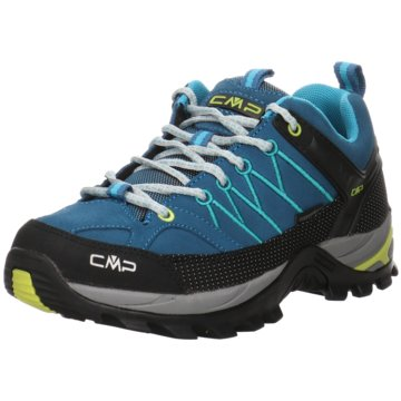 CMP Outdoor SchuhRIGEL LOW WMN TREKKING SHOES WP - 3Q13246 blau