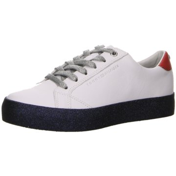 Tommy Hilfiger Denim Sneaker Low weiß