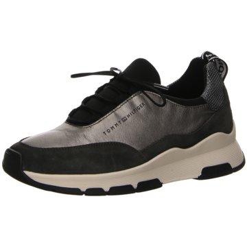 Tommy Hilfiger Sneaker Low silber