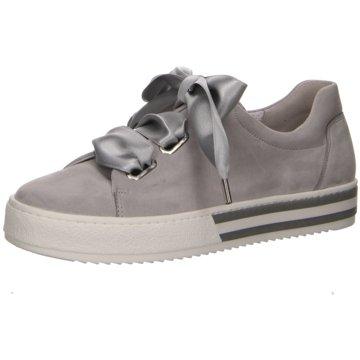 Gabor Plateau Sneaker grau