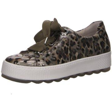 Gabor comfort Plateau Sneaker grün