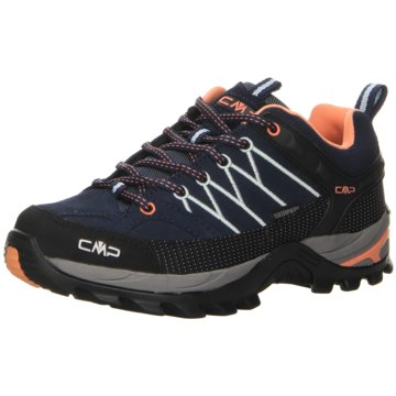 CMP WanderhalbschuheRIGEL LOW WMN TREKKING SHOES WP - 3Q13246 blau