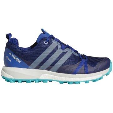 adidas WanderhalbschuheTerrex Agravic GTX Outdooschuhe blau