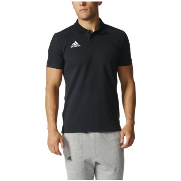 adidas PoloshirtsTiro 17 Cotton Polo schwarz