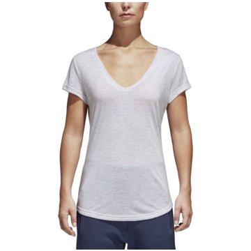 adidas FunktionsshirtsID Winners T-Shirt weiß