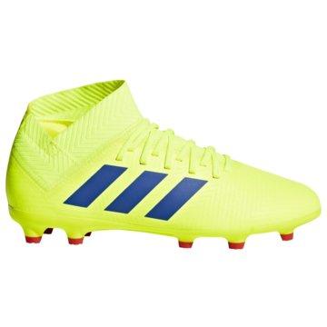 adidas FußballschuhNEMEZIZ 18.3 FG J gelb