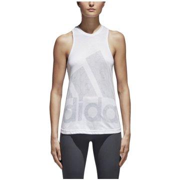 adidas TopsClimalite Logo Tanktop weiß