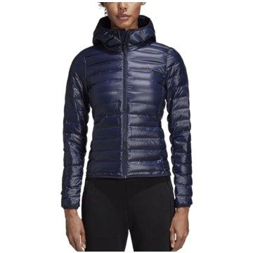 adidas Funktions- & OutdoorjackenVarilite Hooded Daunenjacke blau