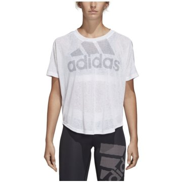 adidas T-ShirtsMagic Logo T-Shirt weiß