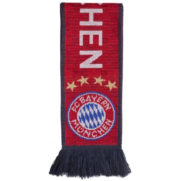 adidas Fan-AccessoiresFC Bayern München Fan Schal rot