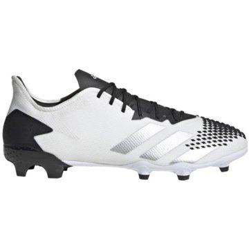 adidas Stollen-SohlePREDATOR MUTATOR 20.2 FG - FW9199 weiß