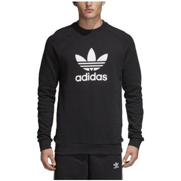 adidas Originals SweaterTREFOIL CREW - CW1235 schwarz