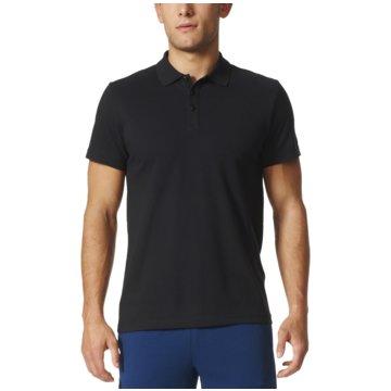 adidas PolosEssentials Base Poloshirt Herren schwarz schwarz