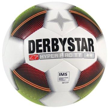 Derby Star FußbälleHyper Pro TT Trainingsball weiß gelb rot -