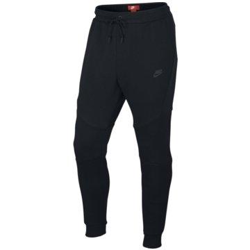 Nike Lange HosenTech Fleece Jogger Herren Sporthose schwarz -