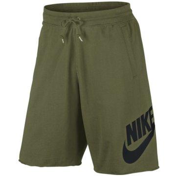 Nike Kurze Hosen oliv