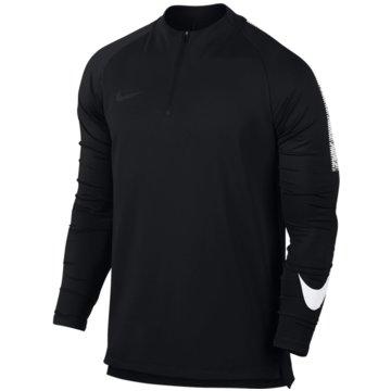 Nike SweaterDry Squad Drill Top LS schwarz