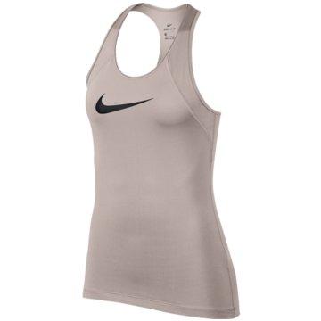 Nike TopsPro Tank Top beige