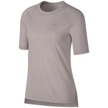 Nike FunktionsshirtsBreathe Tailwind Cool SS Top Women grau