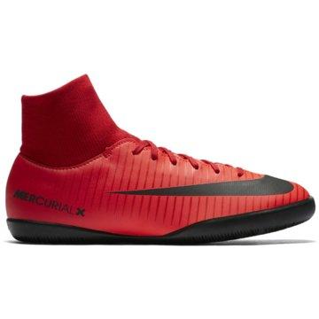 Nike Trainings- und HallenschuhMercurialX Victory VI Dynamic Fit IC Kinder Hallenschuhe rot schwarz rot