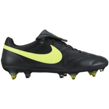 Nike Stollen-SohlePremier II Anti Clog SG-Pro Herren Fußballschuhe Stollen schwarz gelb schwarz