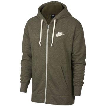 Nike SweatjackenSportswear Heritage Fleece Hoodie grün