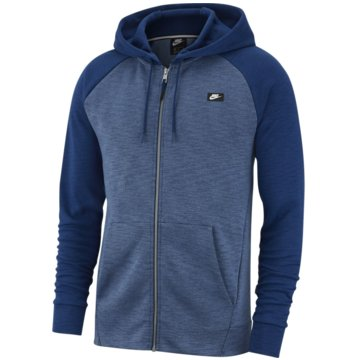 Nike SweatjackenSportswear Optic Fleece Men's blau
