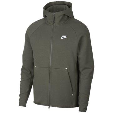 Nike SweatjackenSportswear Tech Fleece Hoodie oliv