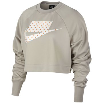 Nike HoodiesSportswear Damen Crew beige