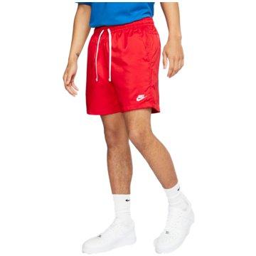 Nike kurze SporthosenSportswear Flow Shorts rot