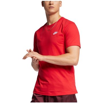 Nike T-ShirtsSPORTSWEAR CLUB - AR4997-657 rot