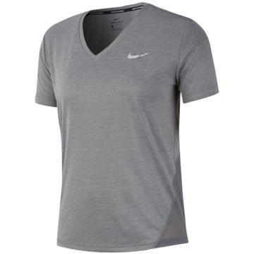 Nike T-ShirtsMILER - AT6756-056 grau