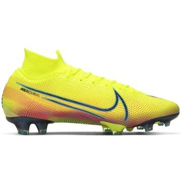 Nike Nocken-SohleNike Mercurial Superfly 7 Elite MDS FG - BQ5469-703 gelb